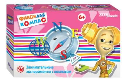 Семейная настольная игра Step Puzzle Фиксилаб Компас 76166-no