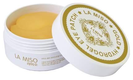 Патчи для глаз LA MISO Gold Hydrogel Eye Patch 60 шт