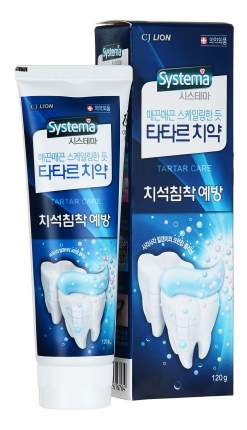 Зубная паста CJ Lion Tartar control Systema 120 г