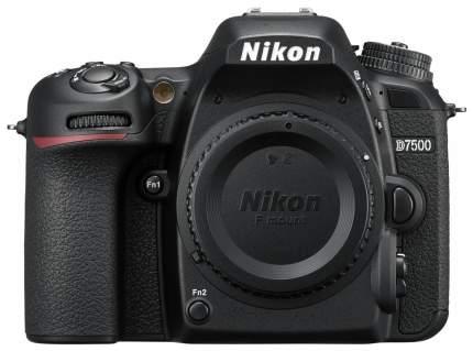 Зеркальный фотоаппарат Nikon D7500 Body Black