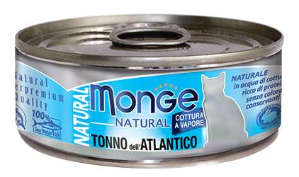 Консервы для кошек Monge Natural, рыба, 80г