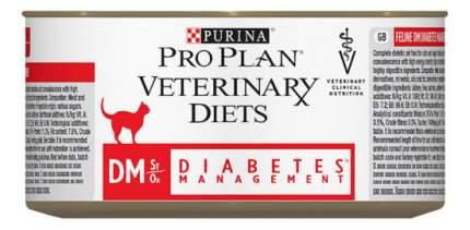 Консервы для кошек Pro Plan Veterinary Diets DM Diabetes Management, курица, 195г