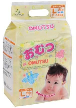 Подгузники Omutsu L (9-14 кг), 24 шт.