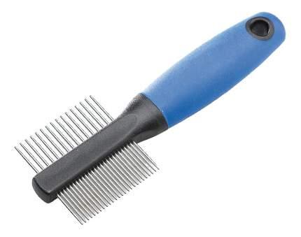 Расческа для грызуны Ferplast металл, цвет синий, черный