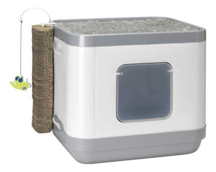 Moderna Cat Concept 4 в 1 (туалет, лежанка, дразнилка, когтеточка), 40х48х43 см