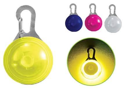 Подвеска-маячок для кошек и собак Triol Светодиодный брелок пластиковый, 55x35 мм