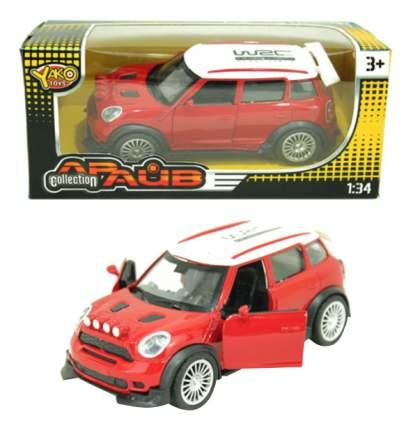 Машинка инерционная Yako Toys Mini cooper