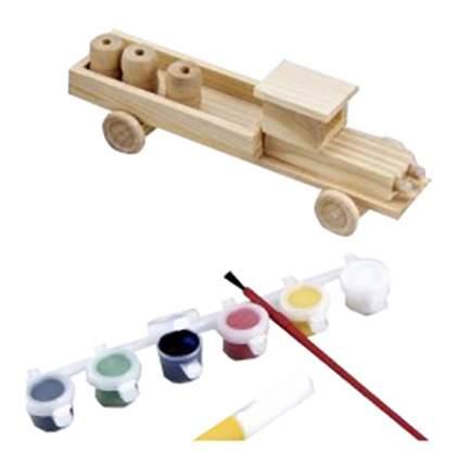 Модели для сборки Mapacha Грузовик с красками
