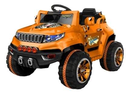 Электромобиль 1TOY Джип оранжевый