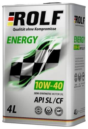 Моторное масло Rolf Energy API SL/CF 10W-40 4л