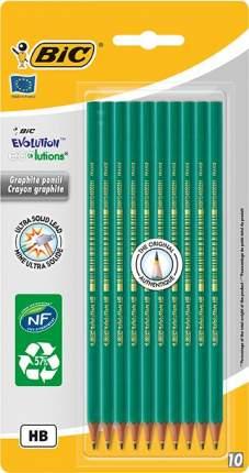 Набор карандашей чернографических BIC Evolution 650 10 шт.