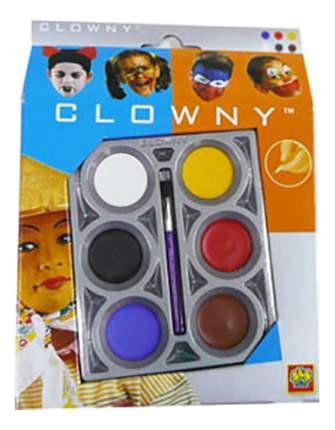 Краски для лица SES Creative Clowny 6 цветов