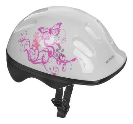 Шлем защитный детский Action! PWH-10 белый