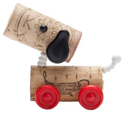 Декор для винной пробки MONKEY BUSINESS MB910 Classics собачка Красный