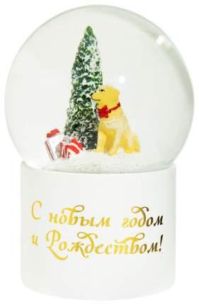 Снежный шар Kuchenland Merry Christmas Christmas lantern 26 см с подсветкой