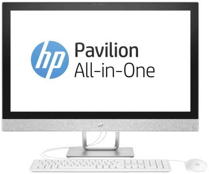 Моноблок игровой HP Pavilion 27I 27-r005ur 2MJ65EA Серый
