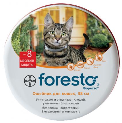 Ошейник Bayer Foresto для кошек 38см