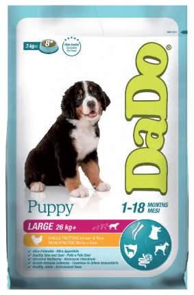 Сухой корм для щенков DaDo Puppy Large Breed, для крупных пород, курица и рис, 12кг