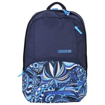 Рюкзак American Tourister MWM Summer Flow синий/черный 21 л