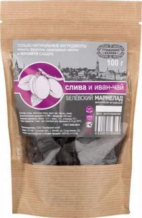 Мармелад Традиции Белева желейно-ягодный слива и иван-чай 100 г