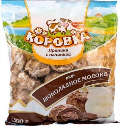 Пряники с начинкой Коровка шоколадное молоко 300 г