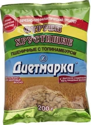 Отруби пшеничные ДиетМарка хрустящие с топинамбуром 200 г