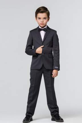 Школьный костюм Silver spoon пиджак и брюки каменно-серый р.158
