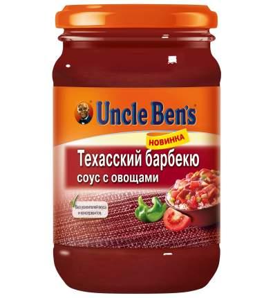 Томатный соус  Uncle Ben's техасский барбекю с овощами 210 г