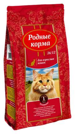 Сухой корм для кошек Родные корма, телятина, 0,409кг