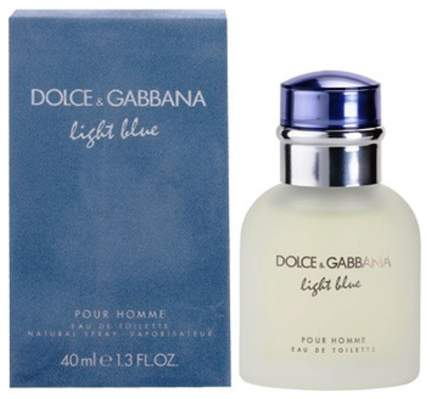 Туалетная вода Dolce & Gabbana Light Blue 40 мл