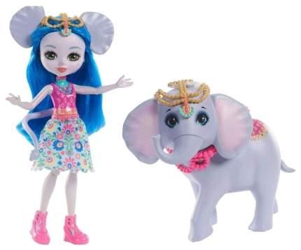 Игровой набор Enchantimals с куклой Ekaterina Elephant & Antic FKY72 FKY73