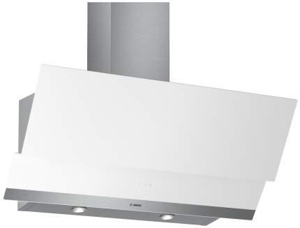 Вытяжка наклонная Bosch DWK095G20R White/Silver
