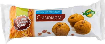 Кекс с изюмом Хлебный Спас на фруктозе 220 г