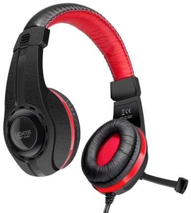 Игровые наушники Speed-Link Legatos Red/Black