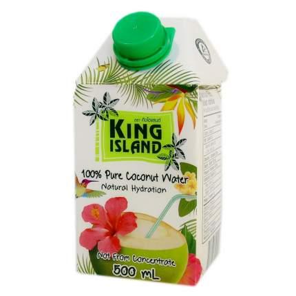 Кокосовая вода King Island 100 %  без сахара 500 мл