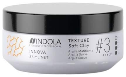 Гель для укладки Indola Soft Clay Innova Style Клей для волос 85 мл