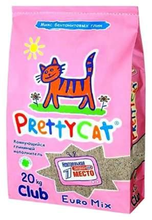 Наполнитель для кошачьего туалета Pretty Cat Euro Mix, 20 кг