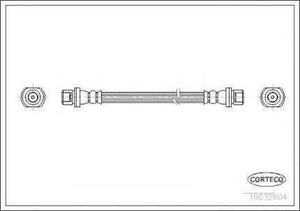 Шланг тормозной системы Corteco 19032604