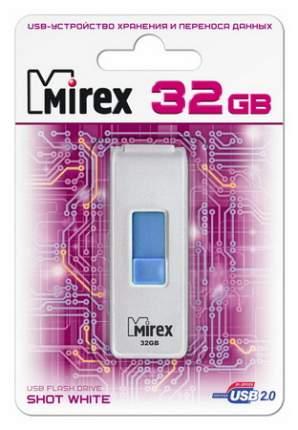 USB-флешка MIREX Shot 32GB White (13600-FMUWST32)