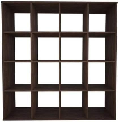 Стеллаж Polini Home Smart Кубический 16 секций, Винтаж