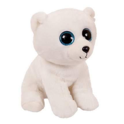 Мягкая игрушка ABtoys Медвежонок, белый, 24 см