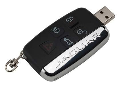 Флешка Jaguar Car Key Style USB-stick, 8Gb, артикул JGKEYFOB8GB