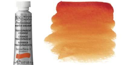 Акварель Winsor&Newton Artists оранжевый прозрачный 5 мл