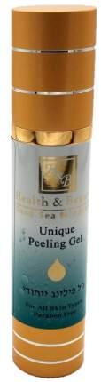 Уникальный очищающий пилинг-гель Health & Beauty 50 мл