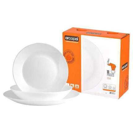 Набор столовой посуды Arcopal Zelie 18 предметов
