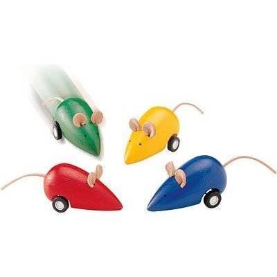 Бегающая мышка, plan toys, арт. 9731