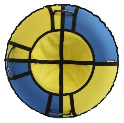 Тюбинг Hubster Хайп голубой-желтый 90 см