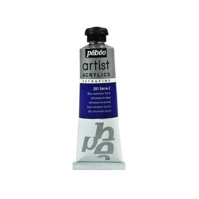 Акриловая краска Pebeo Artist Acrylics extra fine №2 ультрамарин темный 37 мл