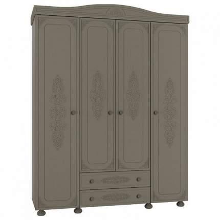 Платяной шкаф Компасс-мебель Ассоль плюс АС-28 KOM_AC28_2_plus 173,2x56,6x222,5, грей