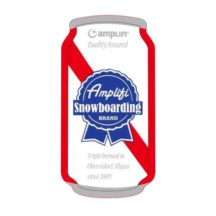 Наклейка на сноуборд Amplifi Can Stomp, triple brew